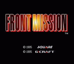Front Mission (SNES)
